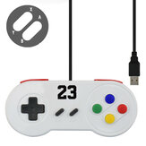 DATA FROG Wired USB Gamepad Gaming Joypad for Windows7/8/10/MAC Computer Game Controller