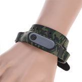 Camouflage Silicone Double Circle Strap Replacement Bracelet Band For Xiaomi2