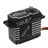 JX BLS-12V7146 46KG 12V 180 Degrees HV Steel Gear Digital Brushless Servo For RC Robot