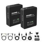 ZZGCINE GO 1V1 UHF Kablosuz Yaka Yaka Mikrofon Sistem Vericili ve Alıcı Akıllı Telefonlar için Kamera