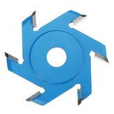 Drillpro 75-100mm Wood Carving Disc Hexagonal Shovel Grinder Disc for 100/115 Angle Grinder