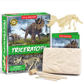 Dinosaur Puzzle Educational Toys Archaeological Excavation Animal Model Dinosaur Skeleton Toy Puzzle Assembly for Kids