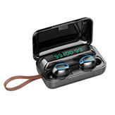 Bakeey F9-5 TWS bluetooth Earphone Wireless Magnetic Headphones 9D HiFi Noise Cancelling Waterproof Headsets With Lanyard Microphone Charging Box