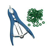 Sheep Castration/Banding/Tail Docking/Applicator/100 Rings/Cattle/Marking/Farm Castrator Tools