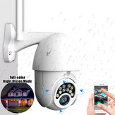 GUUDGO 10LED 5X Zoom HD 2MP IP Security Camera WiFi Wireless 1080P Outdoor PTZ Waterproof Night Vision ONVIF