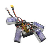 B6FPV XT30 Plug Parallel Charging Board Support 1-3S Lipo Battery For iSDT D2 Q6 Nano Charger