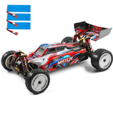 Wltoys 104001 Several 2200mAh Battery RTR 1/10 2.4G 4WD 45km/h Metal Chassis RC Car Vehicles Models Kids Toys