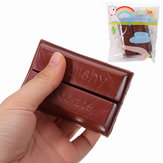YunXin Squishy Chocolate 8cm Sweet Slow Rising With Packaging Collection Gift Decor Toy