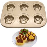 651.496 KC-BK10 Multifunctionele Baking Pan Schotel Nonstick Roestvrij Staal Cake Mould DIY Donut Bakeware