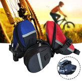 Sela para bicicleta BIKIGHT Bolsa Parte traseira do assento da bicicleta Bolsa Couro PU de couro impermeável para guardar a cauda Bolsa Bicicleta para ciclismo ao ar livre Bolsa