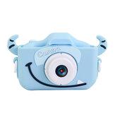 2.0 pouces IPS écran 1080P HD mini appareil photo numérique pour enfants caméscope antichoc bande dessinée autocollants caméra