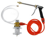 12V 120W 250PSI Bomba de lavagem de carros domésticos Ferramenta portátil de alta pressão para lavadora elétrica