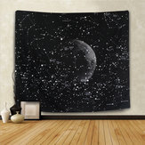 Constelación Tapiz Decoraciones caseras de pared Espacio Planet Galaxy Tapiz