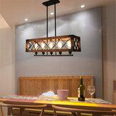110-240V Endüstriyel Kolye 5-Light Avize Tavan Lamba Aydınlatma Armatürü Ampul Olmadan Mutfak Bar