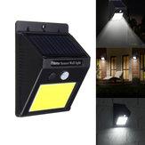 Solar Power 48 LED PIR Motion Sensor Luminária de jardim à prova d'água à prova d'água