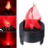 Halloween 3W Prop LED Fake Flame Lamp Torch Flood Light  Fire Pot Home Decor AC85-260V