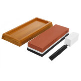 5000/10000 Grit Double Sided Water Wet Stone Sharpen Stone Dual Whetstone Kitchen Grinding Tool