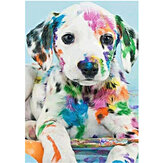 DIY Diamond Painting Animal Dog Wall Painting Hanging Pictures Handmade Wall Decorations Gifts Drawing for Kids Adult