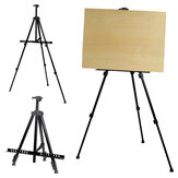 Aluminium Alloy Folding Painting Easel Frame Adjustable Tripod Display Shelf Drawing Supplies