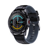 [bluetooth Calling] Bakeey SN88 360° Stitches Music Control Weather Display Custom Dial Heart Rate Blood Oxygen Monitor BT5.0 Smart Watch