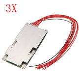 3pcs 37V 42V 10S 45Aリチウムイオンバッテリ保護ボードBMSのPCBシステム