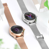 KINGWEAR KW10 Promemoria fisiologico femminile impermeabile delicato IP68 con notifica in tempo reale Push Smart Watch