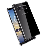 Bakeey Air Cushion Corners Clear Shockproof Soft TPU Case For Samsung Galaxy Note 8