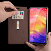 MOFI Shockproof PU Leather Flip Card Slot With Stand Full Body Protective Case For Xiaomi Redmi Note 7 / Redmi Note 7 PRO Non-original