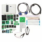 RT809H EMMC-Nand Flash Extremely Fast Universal Programmer Kit Programmer + 29 Adapters With Cables