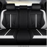 4本のポリエステル繊維6D車のフルサラウンドシートカバークッションプロテクターセットユニバーサル5シート車