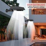 ソーラー30 LED PIRモーションセンサー屋外ヤードガターガーデンウォールライト防水セキュリティランプ