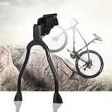 BIKIGHT Metal Double Leg Bike Kickstands Spring Rear Side Bike Stand for 19-28 inch Road Bike