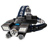 BIKIGHT 21 LEDs 9-Modes USB Rechargeable LED Headlamp Outdoor Cycling Headlight Camping Light Waterproof LED Torch Lamp