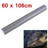 ティントヘッドライトリア・ランプ用の有孔メッシュフィルムステッカー60x106cm