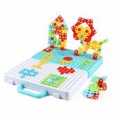 188 / 275pcs Desmontagem Manual Pequeno DIY Brinquedo Porca Montagem 3D Parafuso Quebra-cabeça de Brinquedo Blocos de Construção Presentes Criativos para Crianças