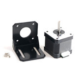 42 Stepper Motor with Motor Fixing Bracket Kit for Smart Robot Car Chassis
