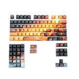 104 touches Saturn Keycap Set OEM Profile PBT Keycaps de sublimation à cinq faces pour clavier mécanique