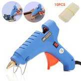 Raitool ™ 100V-240V 60W Hot Melt Glue Gun Azul Elétrico Aquecimento Hot Melt Glue