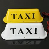 Waterdichte Taxi Magnetische Base Roof Top Car Cab LED Signal Light Lamp