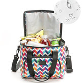 10L Picnic Bag Thermal Insulated Thermal Cooler Insulated Tote Lunch Food Container BBQ Storage Box