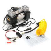 Compresseur d'air 150PSI 60L 12V 4WD Pompe de pression de kit portatif de pompe de gonflage de pneu