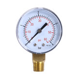 TS-50-4 Practical Pool Spa Filter Water Pressure Gauge Mini 0-60 PSI 0-4 Bar Side Mount 1/4 Inch Pipe Thread NPT TS-50