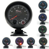 3.75inch 95mm LED Tachometer Tacho Gauge Meter 0-8000 RPM 7 Color Shift Light
