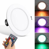 Downlight 5W RGB KTV Colorful luz de 16 cores com luz mutável para sala de estar downlight Spot Controle Remoto