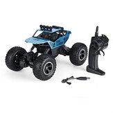 1:12 RC سيارة قابلة لإعادة الشحن البطارية و التحكم عن بعد مراقبة 2.4G 4WD على الطرق الوعرة الوحش RC شاحنات تسلق اللعب RC مركبة نموذج للأطفال