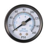 TS-40-10 1/8 palce 160 Psi 0-10bar Kompresor Tlakoměr Tlakový malý tlakoměr