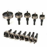 12pcs 15-50mm HSS Hole Saw Cutter HSS Broca Bits Set