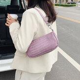 Bayan Timsah Desen Katı Omuz Çanta Çanta