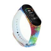 Montre d'impression Bande Réplication de bracelet de montre pour Xiaomi Miband 5 Non original