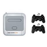 Super Console X Pro Amlogic S905X Wireless TV Game Console 64GB 128GB 50000+ Games Player TV Коробка 4K HD для PSP PS1 N64 NES Atatri GB Support APP Скачать